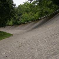 Oude ovalen baan in Monza