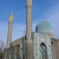 Overzicht op de Moskee van Sint-Petersburg