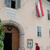 Deur van het Woonhuis van Mozart