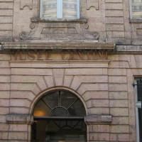 Voorkant van het Musée Cantini