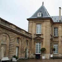 Binnenplaats van het Musée des Arts Décoratifs