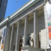 Voorkant van het Musée des Beaux-Arts de Montréal