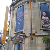 Deuren van het Musée Guimet
