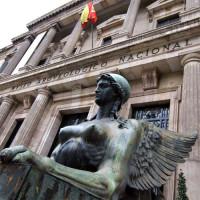 Beeld voor het Museo Arqueológico Nacional