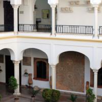 Binnenplaats van het Museo Arqueológico