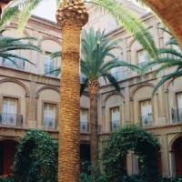 Binnenplein van het Museo de Bellas Artes