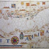 Kaart in het Museo Naval
