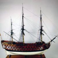 Replica van een zeilboot