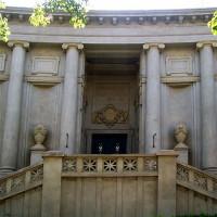 Ingang van het Museo Provincial de Bellas Artes
