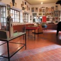 Binnen in het Museo Municipal Taurino