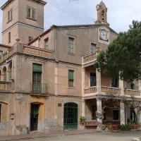 Vooraanzicht van het Museu Casa Verdaguer