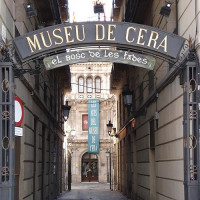 Naambord van de Museu de Cera