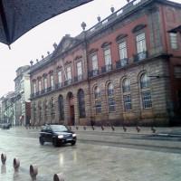 Zijaanzicht van het Museu Nacional de Soares dos Reis