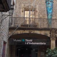 Naambord van het Museu Textil i d'Indumentaria