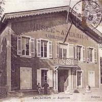 Oud beeld van het Aquarium Musée d'Arcachon