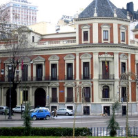 Zicht op het Museo Cerralbo