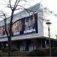 Zicht op het Museum Europäischer Kulturen