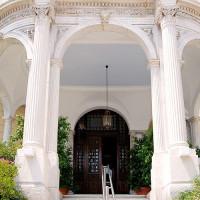 Voordeur van het Museum van Cycladische Kunst