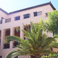 Stuk van het museum van de Atheense Universiteit