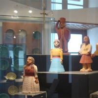 Beelden in het Museum van Griekse Volkskunst