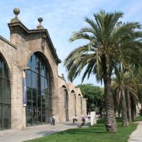 Voorkant van het Museu Nacional d'Art de Catalunya
