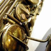Detail van een muziekinstrument
