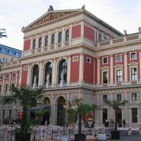 Zicht op het Musikverein