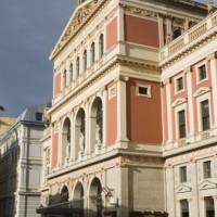 Zijaanzicht van de Musikverein