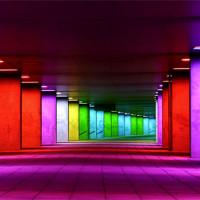 Kleurrijke muren