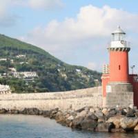 Vuurtoren op Ischia