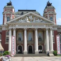 Gevel van het Nationaal Theater Ivan Vazov