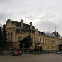 Zijaanzicht van de Nationale Kunstgalerij