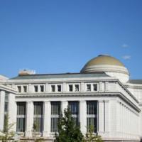 Buiten het National Museum of American History