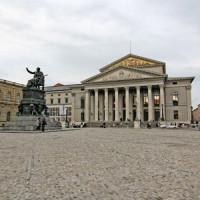Voorkant van het Nationaltheater
