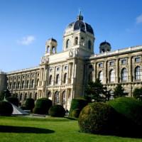 Park voor het Natuurhistorisches Museum