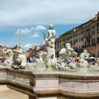 Zicht over het Piazza Navona