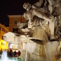 Fontein op de Piazza Navona