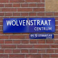 Naambordje van de Wolvenstraat