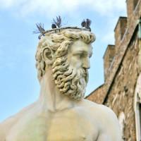 Hoofd van Neptunus