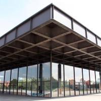 Buitenkant van de Neue Nationalgalerie