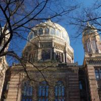 Gevel van de Neue Synagoge