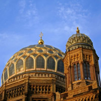 Dak van de Neue Synagoge