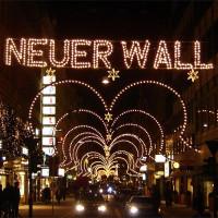 Kerstverlichting op de Neuer Wall
