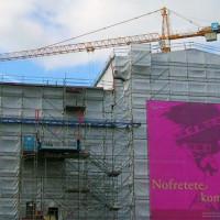 Neues Museum in de steigers