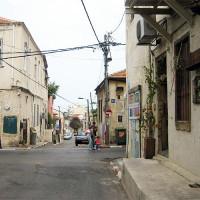 Straat in Neve Tzedek