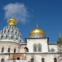 Koepels van het Nieuw Jeruzalem-klooste