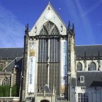 Vooraanzicht van de Nieuwe Kerk