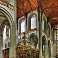 Binnenaanzicht van de Nieuwe Kerk