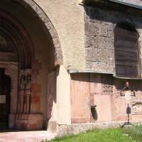 Stuk van de Nonnberg-abdij