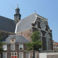 Zijaanzicht van de Noorderkerk